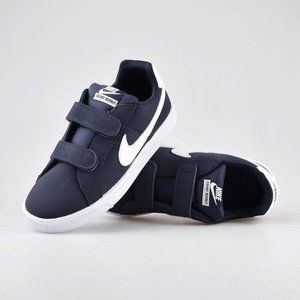 Nike Court Royale Navy Strap Sneakers